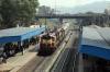 VSKP WDM3A's 16048/18866 arrive into Sambalpur Road with 18508 2345 (PP) Amritsar Jn - Visakhapatnam