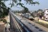 BNDM WDG4's 70094/12844 run through Sambalpur Road while the Hirakud Express stands in the platform