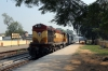 VSKP WDM3A 14089 arrives into Sambalpur Road with 12893 0645 Bhubaneswar - Balangir