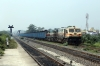 BNDM WDG4's 12945/70127 run through Sambalpur Road with a loaded coal train