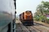 BNDM WDM3D 11167 shunting stock outside Sambalpur Jn