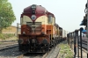 VSKP WDG3A's 14544/13200 at Sambalpur Jn with a container train