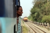 VSKP WDG3A's 13091/14510 head approach Sarla Jn with a freight