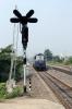 R WDM3A 18927 runs light through Sambalpur Road