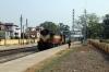 VSKP WDM3A 16512 arrives into Sambalpur Road with 12893 0645 Bhubaneswar - Balangir