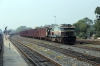BNDM WDG4 12987 at Sambalpur Road with a freight