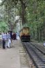 ERS WDM3A 16565 arrives into Cherukara Halt with 56616 1125 Nilambur Road - Shoranur Road