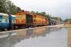 ERS WDG3A 14638 at Nilambur Road after arriving with 56617 1500 Shoranur Jn - Nilambur Road