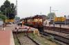 VSKP WDM3A's 18932/18800 at Rayagada Jn with 12807 0625 Visakhapatnam - Delhi Hazrat Nizamuddin