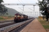 VSKP WDG3A's 14544/13200 arrive into Singupur Road with a freight