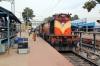 VSKP WDM3D 11537 at Rayagada with 58537 0530 Koraput - Visakhapatnam