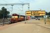 VSKP WDM3A's 18801/18928 wait at Rayagada with 19453 2020 (PP) Gandhidam - Puri