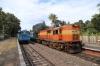 ERS WDG3A 13330 departs Kundara with 56334 0855 Quillon Jn - Punalur