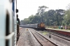 ERS WDG3A 13330 at Punalur waiting to depart with 56333 1110 Punalur - Quillon Jn
