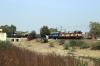 BRC WAG5 21143 departs Dakaniya Talav with 56356 0500 Mathura Jn - Ratlam Jn passenger