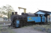 Retired X Class steam loco 37386 dumped at Mettupalayam steam loco shed