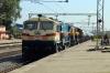 VSKP WDG4's 70079/70513 run into Muniguda with a freight
