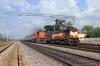 BNDM WDM3D 11235 working 18005 2130 (P) Howrah - Jagdalpur overtakes VSKP WDM3A 18989 working 58301 0715 Sambalpur Jn - Koraput at Doikalu