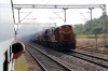 KGP WDG3A's 13366/13552 run through Doikalu with a freight