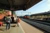 BNDM WDM3A 16118 arrives into Muniguda with 18302 1415 Rayagada - Sambalpur Jn