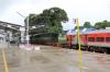 GOC WDG3A 13563 at Sengottai after arrival with 56801 0700 Tirunelveli Jn - Sengottai