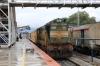 GOC WDG3A 14669 at Sengottai after arriving with 16181 2040 (P) Chennai Egmore - Sengottai