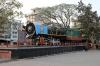 YG 3509 plinthed outside Chittaurgarh Jn station