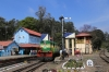 GOC YDM4 6664 at Coonoor after arrival with 56139 0915 Udagamandalam (Ooty) - Coonoor