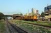 BNDM WDM3A's 13555/13396 hammer through Sambalpur Road with a coal train
