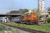 BNDM WDM3A 18929 departs Sambalpur Road with12872 0515 Titlagarh Jn - Howrah Ispat Express
