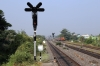 BNDM WDG3A 13422 on the shunt spur from Sambalpur Jn towards Sambalpur Road; as seen from the end of the platform at Sambalpur Road