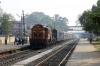 BNDM WDM3D 11412 arrives into Sambalpur Road with 18005 2130 (P) Howrah - Jagdalpur