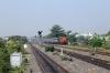 BNDM WDG3A 13422 shunts the Sambalpur Jn portion of 18005 2130 (P) Howrah - Jagdalpur back into the washer road from the shunt spur at Sambalpur Road