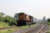 BNDM WDM3D 11146 passes through Sambalpur Road with 18312 1450 (P) Varanasi Jn - Sambalpur Jn