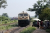 R WDG4's 12498/12468 approach Sambalpur Road with a freight