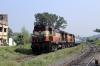 VSKP WDM3A's 18928/18801 approach Sambalpur Road with 18508 2345 (PP) Amritsar Jn - Visakhapatnam