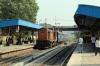 BNDM WDM3A 16285 arrives into Sambalpur Road with 58131 0815 Rourkela Jn - Puri