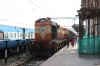 ERS WDG3A 13222 at Quillon Jn after arriving with 16101 1700 Chennai Egmore - Quillon Jn, which it worked from Trichy Jn