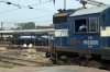JMP WDM3A 16608 is prepared to depart Howrah with 12337 1010 Howrah - Bolpur while HWH WDM3A 16637 sits in an adjacent platform