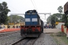 HWH WDM3D 11499 at Guskara with 13015 1040 Howrah - Bolpur