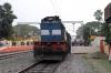 HWH WDM3D 11499 at Guskara with 13015 1040 Howrah - Bolpur
