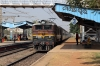 VSKP WAM4 21307 arrives into Mancheswar with 58425 0530 Kenujhargarh - Bhubaneswar