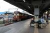 VSKP WDM3D 11548 waits departure from Bhubaneswar with 12892 1710 Bhubaneswar - Bangriposi