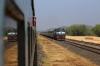 PA WDM3D 11370 hammers through Ankola with 12133 2002 (P) Mumbai CST - Mangalore Jn