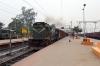 UDL WDG3A 13639 runs through Rampurhat with a freight
