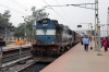 BWN WDM3A 16473 is prepared to depart Rampurhat with 53081 1130 Rampurhat - Dumka