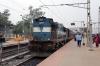 BWN WDM3A 16473 is prepared to depart Rampurhat with 53081 1130 Rampurhat - Dumka