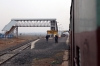 BWN WDM3A 16473 leads 53081 1130 Rampurhat - Dumka into the second station on the Rampurhat - Dumka line, Pinargaria