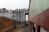 The Rampurhat to Dumka line between the station with no name and Ambajora Shikaripara