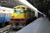 CLA WDS6 36153 at Mumbai CST after bringing the stock in for 82356 1105 Mumbai CST - Patna Jn